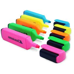 10 PACKS of Highlighters for ONLY $73   0.5mm Chisel Tip Hig
