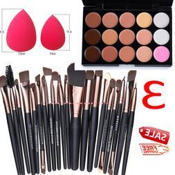 15 Colors Makeup Contour Face Cream Concealer Palette Profes