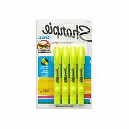Sharpie 1780476 Accent Gel Highlighter, Fluorescent Yellow,