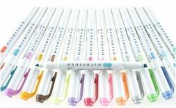 1Pc Zebra Mildliner Highlighter Pens Marker Set Color Office