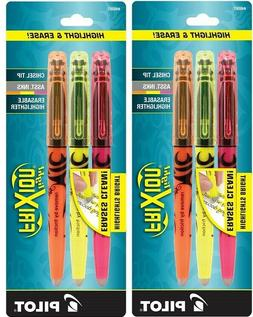 2 Packs, PILOT FRIXION Erasable Highlighter Pens - ASSORTED