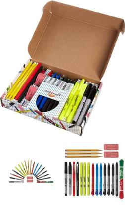 20 Ct School Office Supplies Set of Markers Highlighters Pen
