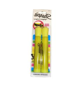 Sharpie 25162PP Accent Tank-Style Highlighter, Fluorescent Y
