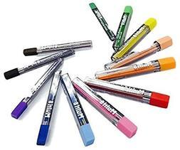 2mm Pentel Multi 8 Color Pencil Lead Set 12 Tubes Refill , C
