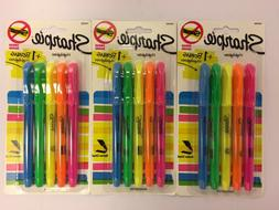 3 Sharpie 5pks Multi-Color Highlighters  - Narrow Chisel/Sme