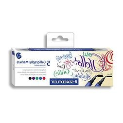 Staedtler 3002 C5 Calligraphy Marker with Chisel Tip Double