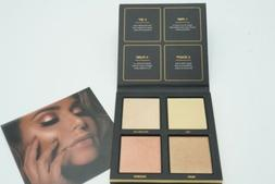 Huda Beauty 3D Highlighter Palette Golden Sand Edition 100%