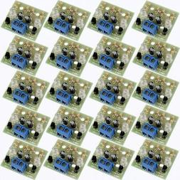 50pcs simple flash circuit electronic production diy