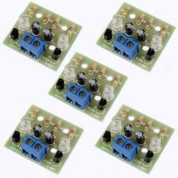 5Pcs Simple Flash Circuit Electronic Production DIY Kits 3-9