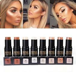 8 Colors Face Highlighter Bronzer Shimmer Cream Waterproof