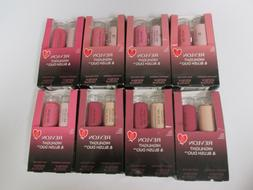 8 REVLON HIGHLIGHT & BLUSH DUO - ASSORTED COLORS - EXP: 1/22