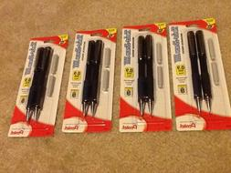 8 Pentel Twist-Erase III mechanical pencils 0.9mm Thick poin