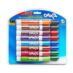 Expo 81045 Low-Odor Dry Erase Markers, Chisel Tip, Assorted