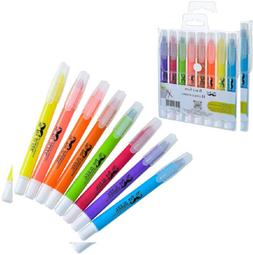 Mr. Pen Dry Highlighter Gel Pack Of 6 Bible No Bleed Assorte