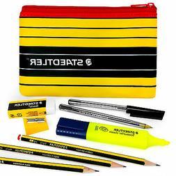 Staedtler - Noris 120 - Pen and Pencil Case Set + Highlighte