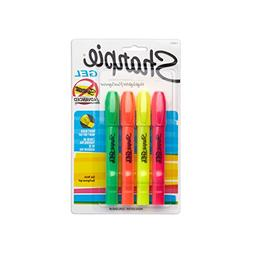 Sharpie Accent Gel Highlighters, Colored, 4 Highlighters