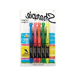 Sharpie Accent Sharpie Pen-Style Highlighters, 5 Colored Hig