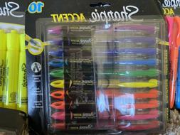 accent pen style liquid highlighter assorted colors