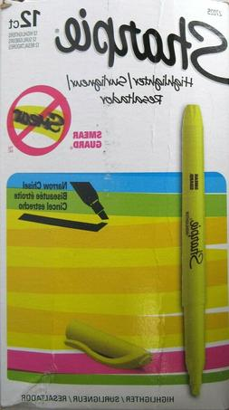 Sharpie Accent Pocket-Style Highlighters, Fluorescent Yellow