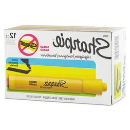 Sharpie Accent Tank Highlighters, Chisel Tip,Yellow, 36-Coun