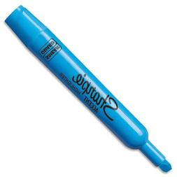 Sharpie Accent Tank Highlighters, Chisel Tip, Fluorescent Bl