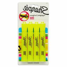 Sharpie 25164PP Accent Tank Highlighters, Chisel Tip, Fluore