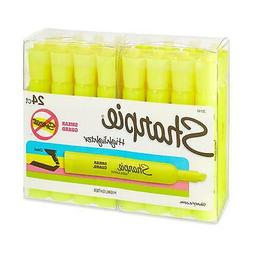 Sharpie Accent Yellow Highlighters Durable Elegant Tuff Scho