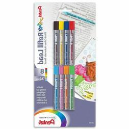 Pentel Arts 8 Colour Refill Lead, Assorted Colors, 8 Pack