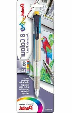 Pentel Arts Mechanical Pencil, 8 color  - PH158BP