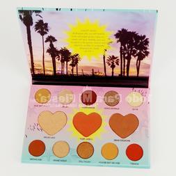 Italia Deluxe Beach Babe Matte Eyeshadow Blush Highlighter B