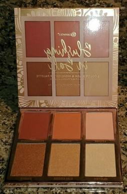 BH Cosmetics Blushing in Bali Blush And Highlighter Palette.