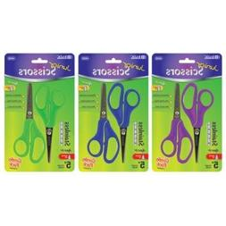 "BAZIC 5"" Blunt & Pointed Tip School Scissors (2/Pa"