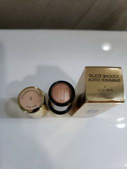BNIB YSL Touche Eclat Shimmer Stick Highlighter #3 Rose Gold