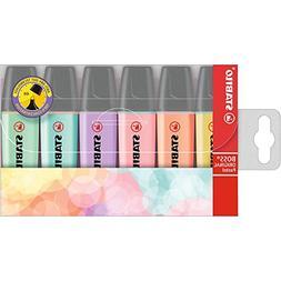 Stabilo BOSS Original Highlighter, Pastels - 6-color Set