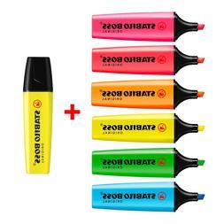 STABILO BOSS NEON Original Highlighter Pens Highlighter Mark