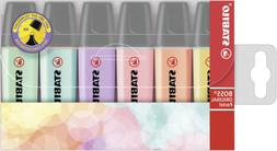 Stabilo BOSS Original Highlighter Pastels - 6-color Set
