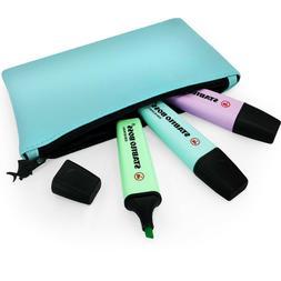 STABILO BOSS Pastel Highlighter Pens – Mint, Turquoise, Li