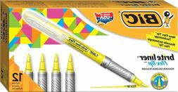 brite liner flex tip highlighter yellow 12