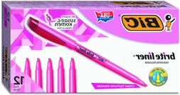 Brite Liner Highlighter, Chisel Tip, Fluorescent Pink
