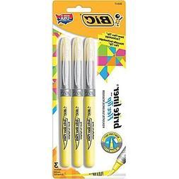 Bic Briteliner Flex Tip H Size 3pk Bic Brite Liner Flex Tip