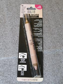 Milani Brow & Eye Highlighters 02 Matte Cream- 2-In-1 Brow &