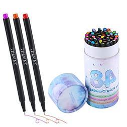 Bullet Journal Colored Fineliner Pens, Fine Tip Marker Fine