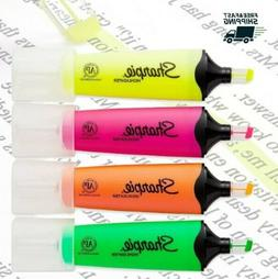 Sharpie 1912769 Clear View Highlighters, Chisel Tip, Assorte