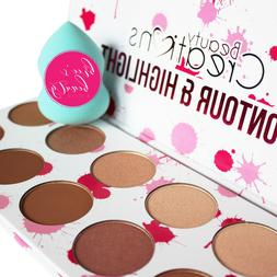 contour and highlight palette 10 shades to