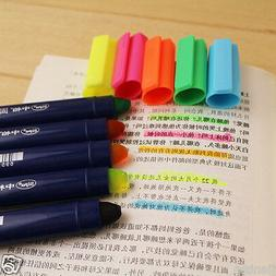 1X Cute Crayon Highlighter Office School Supplies Stationery