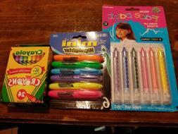 Crayola Crayons 24 Pack Lot Of 3) 24 Total Crayons,mini high