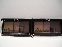 NYX Cream Highlight and Contour Palette, Medium SHADE.