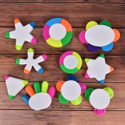DIY Cute Plastic Highlighter Pen Novelty Item For Kids Gift