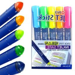 Donga Inkjet Safe Jet Stick Solid Gel Highlighter