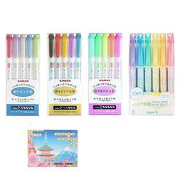 Zebra Double-Sided Highlighter MILDLINER SPECIAL SET  3 Pack